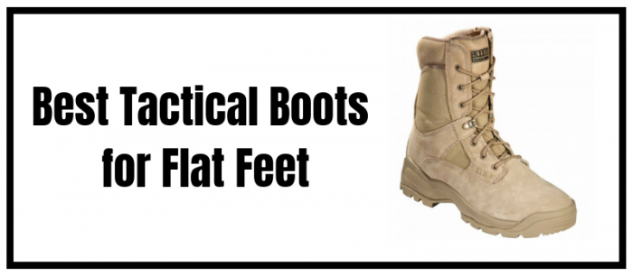 Tactical Boots for Flat Feet