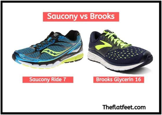 saucony vs brooks