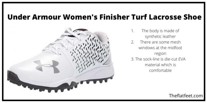 Under Armour Women's Finisher Turf Lacrosse Shoe