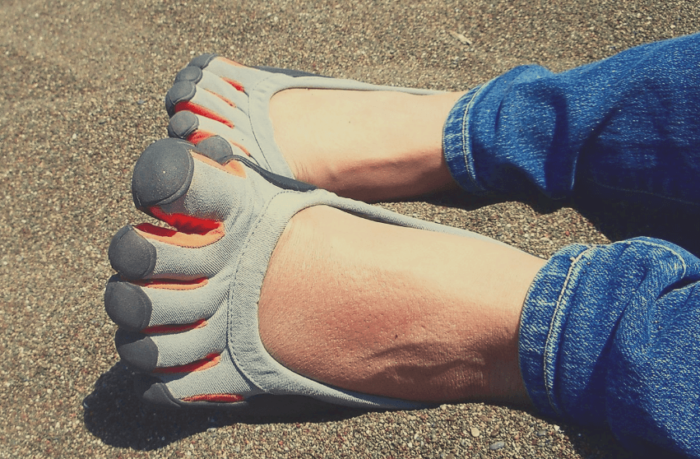 The benefits of wearing five fingers shoes