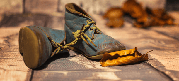 When to replace old shoes